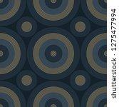 vibrant circles seamless... | Shutterstock .eps vector #1275477994