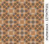 biomorphic vibrant seamless... | Shutterstock .eps vector #1275479101