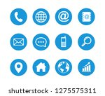 web icon set symbol vector. for ... | Shutterstock .eps vector #1275575311