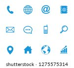 web icon set symbol vector. for ... | Shutterstock .eps vector #1275575314
