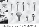 screw and nut bolt | Shutterstock .eps vector #1275586234