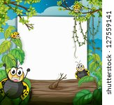 illustration of bugs in the... | Shutterstock . vector #127559141