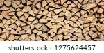 Wall Firewood  Background Of...