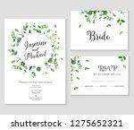 herbal minimalistic vector...   Shutterstock .eps vector #1275652321
