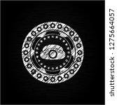 phone icon on chalkboard | Shutterstock .eps vector #1275664057