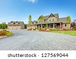 Large Farm Country House With...