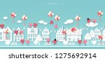 valentines day  wedding ... | Shutterstock .eps vector #1275692914
