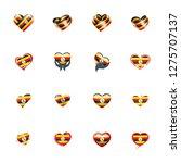 uganda flag  vector...   Shutterstock .eps vector #1275707137