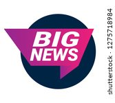 big news sign  emblem  label ...