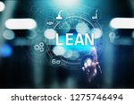 lean  six sigma  quality...   Shutterstock . vector #1275746494