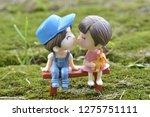 couple love cartoon | Shutterstock . vector #1275751111