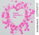 happy valentine day festive...   Shutterstock . vector #1275763717