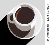 coffee cup vector icon | Shutterstock .eps vector #1275767824