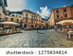 amalfi  italy   may 24  2018 ... | Shutterstock . vector #1275834814