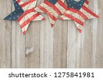 usa patriotic old flag on a...   Shutterstock . vector #1275841981