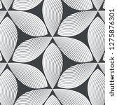 linear vector pattern ... | Shutterstock .eps vector #1275876301