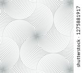geometric pattern vector.... | Shutterstock .eps vector #1275881917