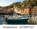 portofino  paraggi region ... | Shutterstock . vector #1275897217
