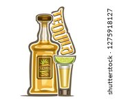 illustration of alcohol drink... | Shutterstock . vector #1275918127