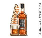 illustration of alcohol drink...   Shutterstock . vector #1275918154