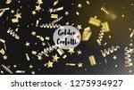 modern christmas tinsel... | Shutterstock .eps vector #1275934927