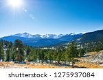 mountain winter scenery  with... | Shutterstock . vector #1275937084