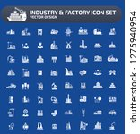 industrial and building vector... | Shutterstock .eps vector #1275940954