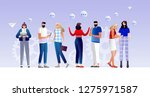 vector illustration ... | Shutterstock .eps vector #1275971587