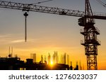 silhouette engineers and... | Shutterstock . vector #1276023037