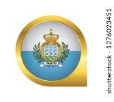 flag of san marino  location... | Shutterstock .eps vector #1276023451