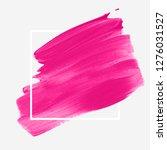brush stroke painted background ... | Shutterstock .eps vector #1276031527