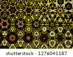 abstract geometric background... | Shutterstock . vector #1276041187