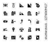 vector illustration of 25 icons.... | Shutterstock .eps vector #1276069417