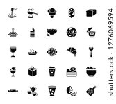 vector illustration of 25 icons.... | Shutterstock .eps vector #1276069594