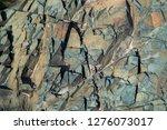 rock sharp texture background...   Shutterstock . vector #1276073017