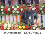 ahmedabad  gujarat india ...   Shutterstock . vector #1276074871