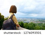 back of young asian girl... | Shutterstock . vector #1276093501