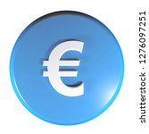 a blue circle push button with...   Shutterstock . vector #1276097251