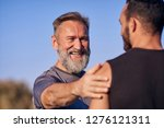 the happy father with son...   Shutterstock . vector #1276121311
