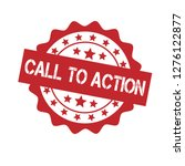 rubber stamp with text call to...