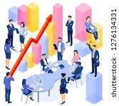 flat design vector ... | Shutterstock .eps vector #1276134331