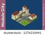 megapolis city quarter | Shutterstock . vector #1276210441