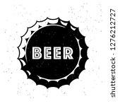vintage craft beer logo with...   Shutterstock .eps vector #1276212727