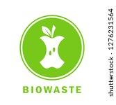 biowaste compost vector icon... | Shutterstock .eps vector #1276231564