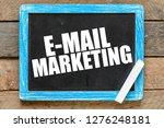 e mail marketing text concept   Shutterstock . vector #1276248181