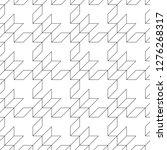 linear ornament. quadrangles...   Shutterstock .eps vector #1276268317