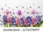 flowers composition with lilac...   Shutterstock . vector #1276278997