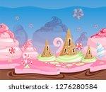 game fantasy landscape....