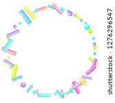 sprinkles grainy. sweet... | Shutterstock .eps vector #1276296547