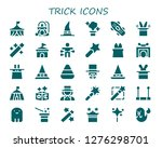 trick icon set. 30 filled... | Shutterstock .eps vector #1276298701
